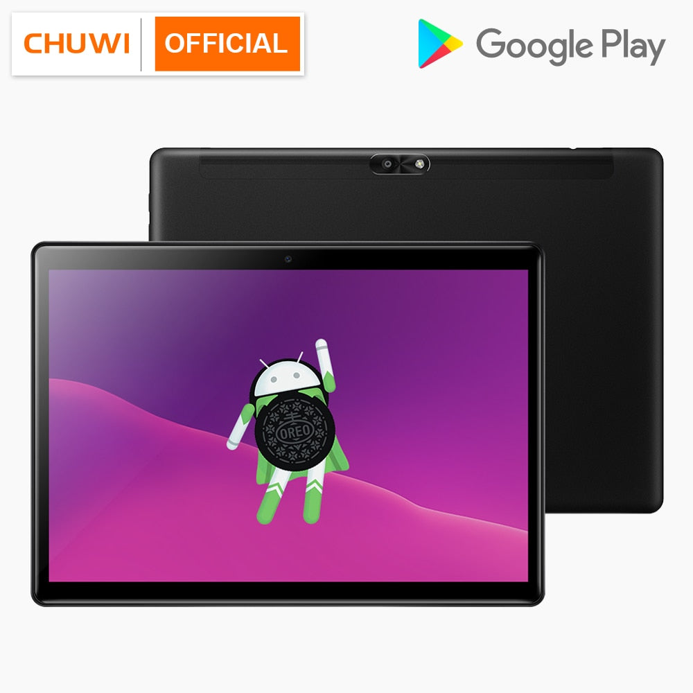 "CHUWI Hi9 Air MT6797 X20 10 Core Android Tablets 4GB RAM 64GB ROM 10.1"" 2560x1600 Display Dual SIM 4G Phone Call Tablet - Evoke Direct"