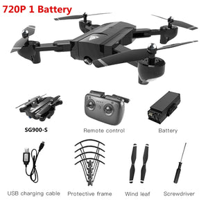 SG900-S GPS Drone with camera HD 1080P Professional FPV Wifi RC Drones Altitude Hold Auto Return Dron RC Quadcopter Helicopter - Evoke Direct