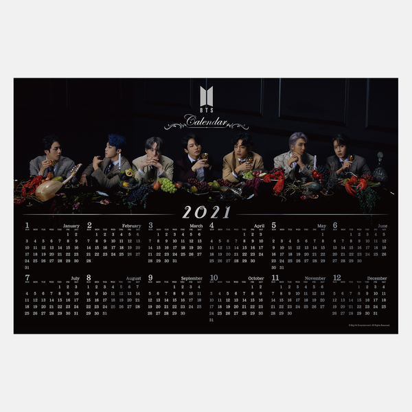 [BTS Jigsaw Puzzle] MAP OF THE SOUL : 7 -2021 CALENDAR- (1000ピース)