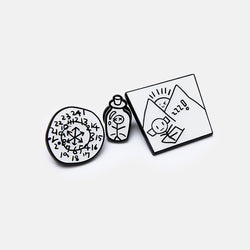 [BE] PIN BADGE SET