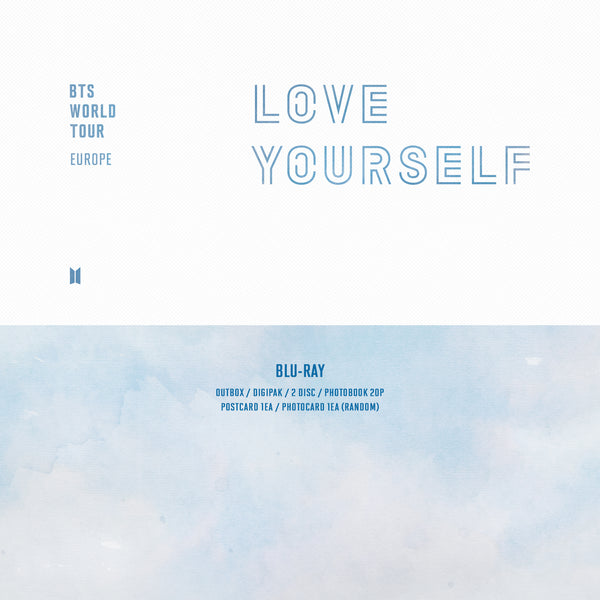 BTS WORLD TOUR 'LOVE YOURSELF' EUROPE Blu-ray*