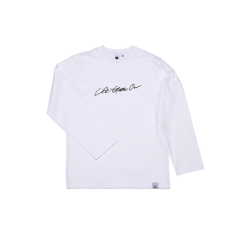 [BE] LONG SLEEVE T-SHIRTS