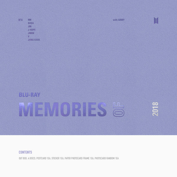 [Blu-ray] BTS MEMORIES OF 2018*