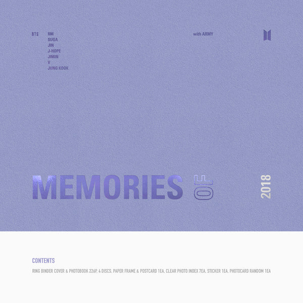[DVD] BTS MEMORIES OF 2018*