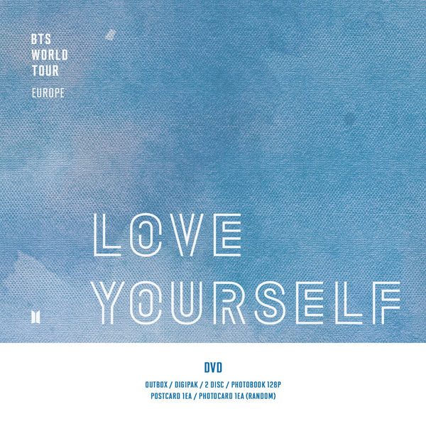 BTS WORLD TOUR 'LOVE YOURSELF' EUROPE DVD*