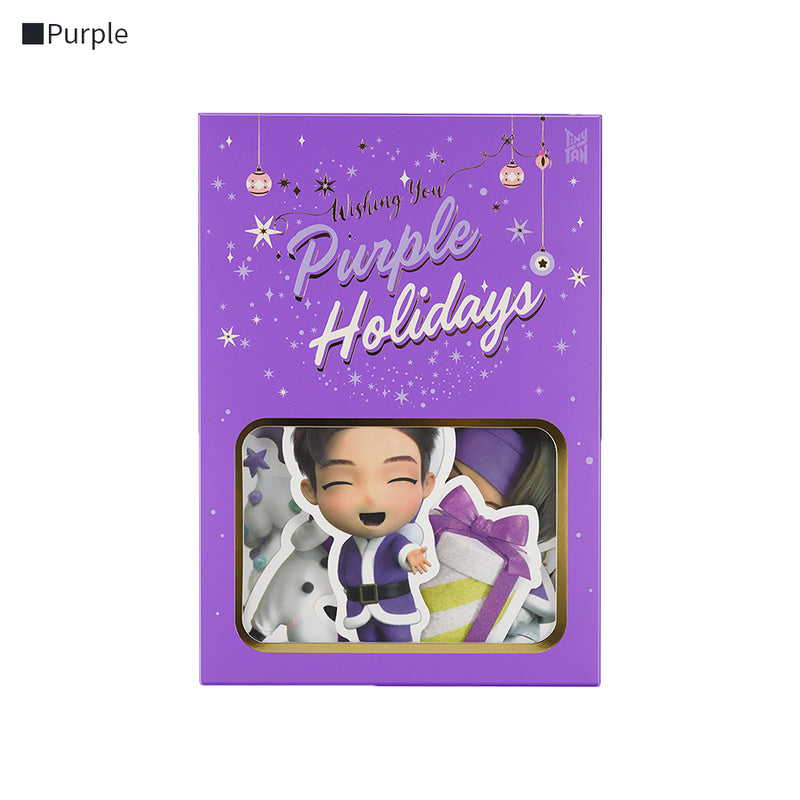 [TinyTAN Holiday] Sticker Set