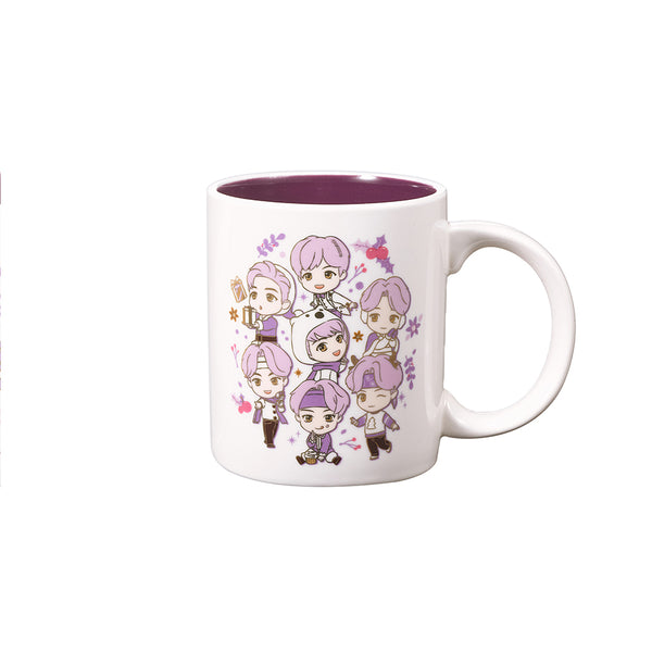 [TinyTAN HOLIDAY] Mug (Circle)