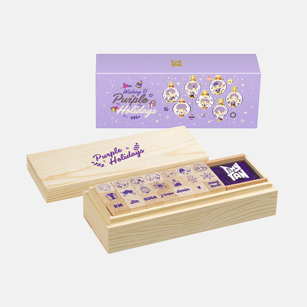 [TinyTAN HOLIDAY] Stamp Set