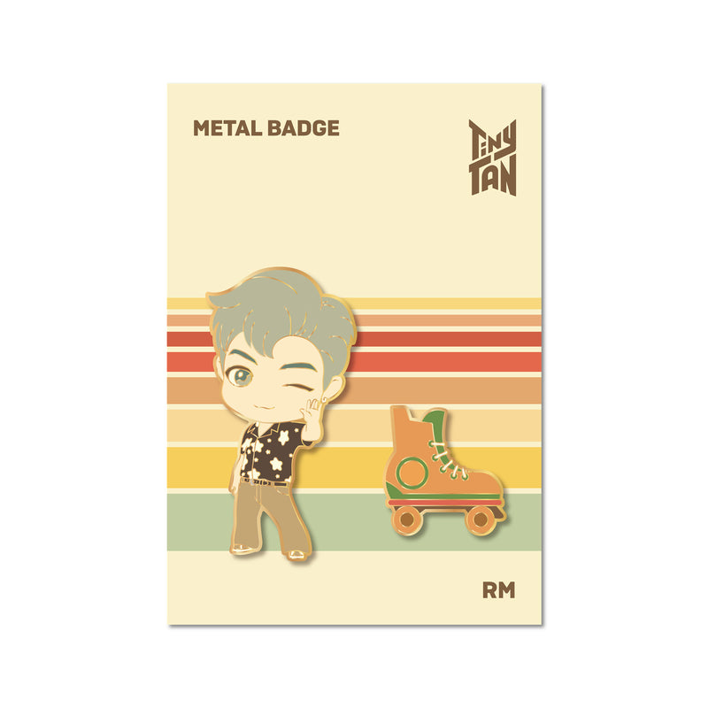 [TinyTAN Dynamite] Metal Badge