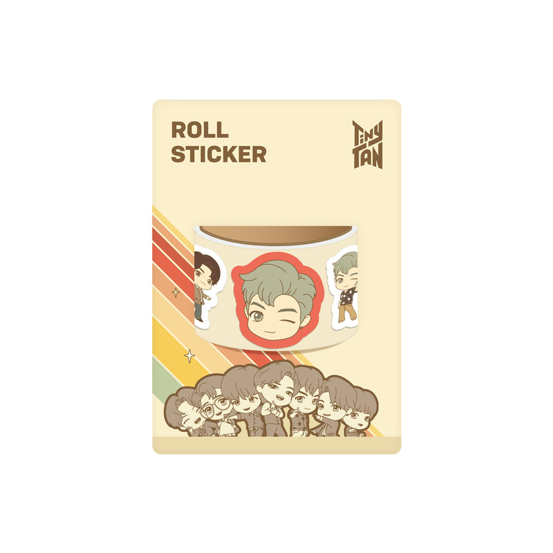 [TinyTAN Dynamite] Roll Sticker