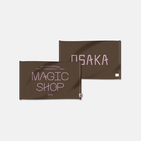 [MAGIC SHOP] TOWEL (OSAKA ver.)