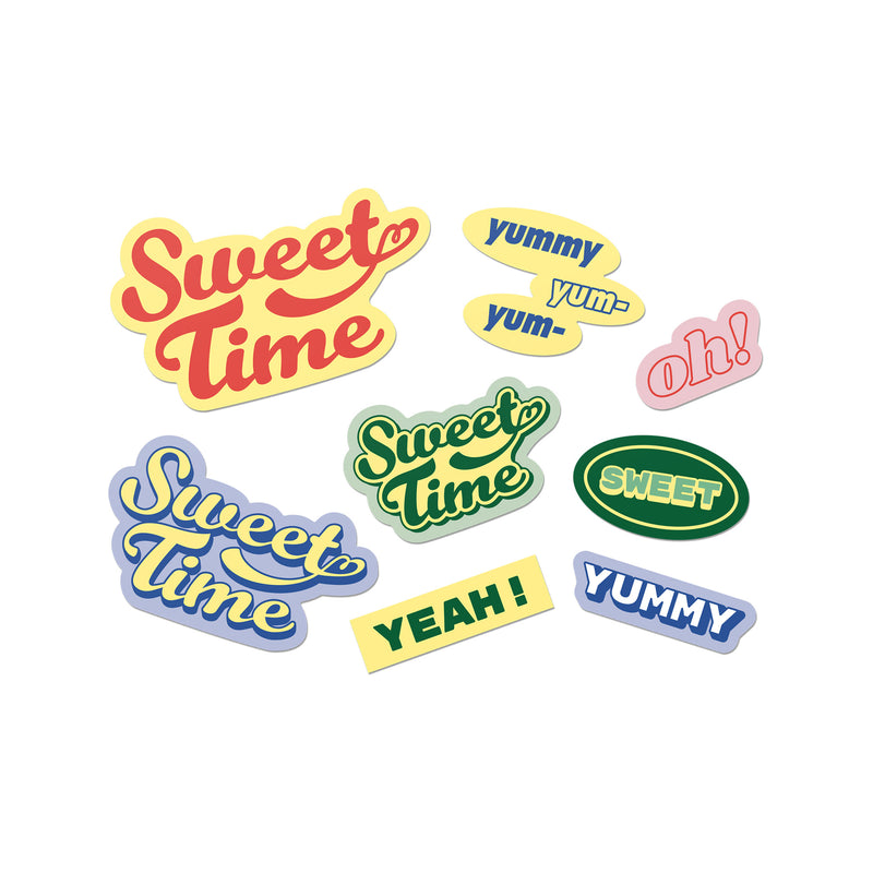 [TinyTAN] Big Sticker pack (Sweet Time)