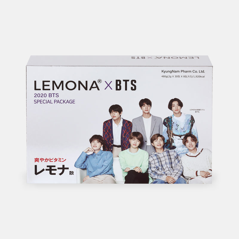 [LEMONA X BTS] Special Package (30包入×8缶セット)