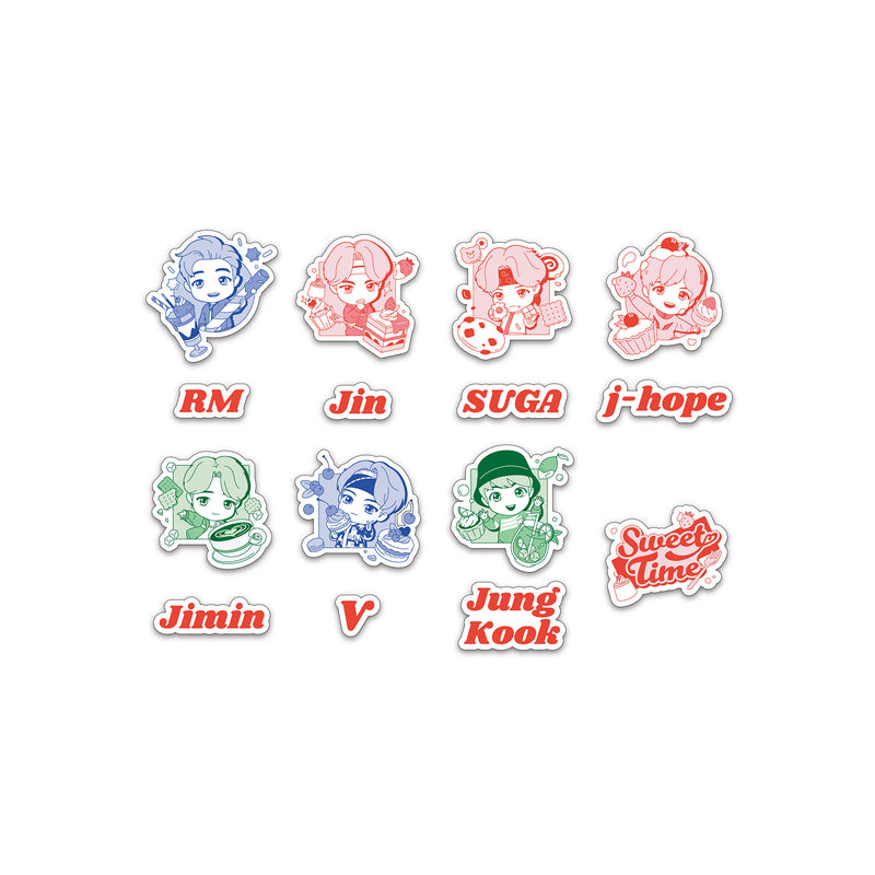 [TinyTAN] Removable Sticker (Sweet Time)