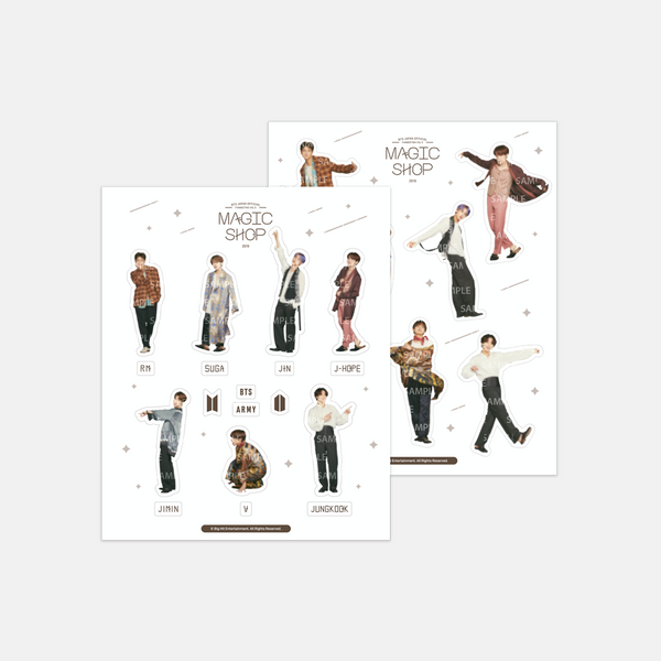[MAGIC SHOP] DECO STICKER SET