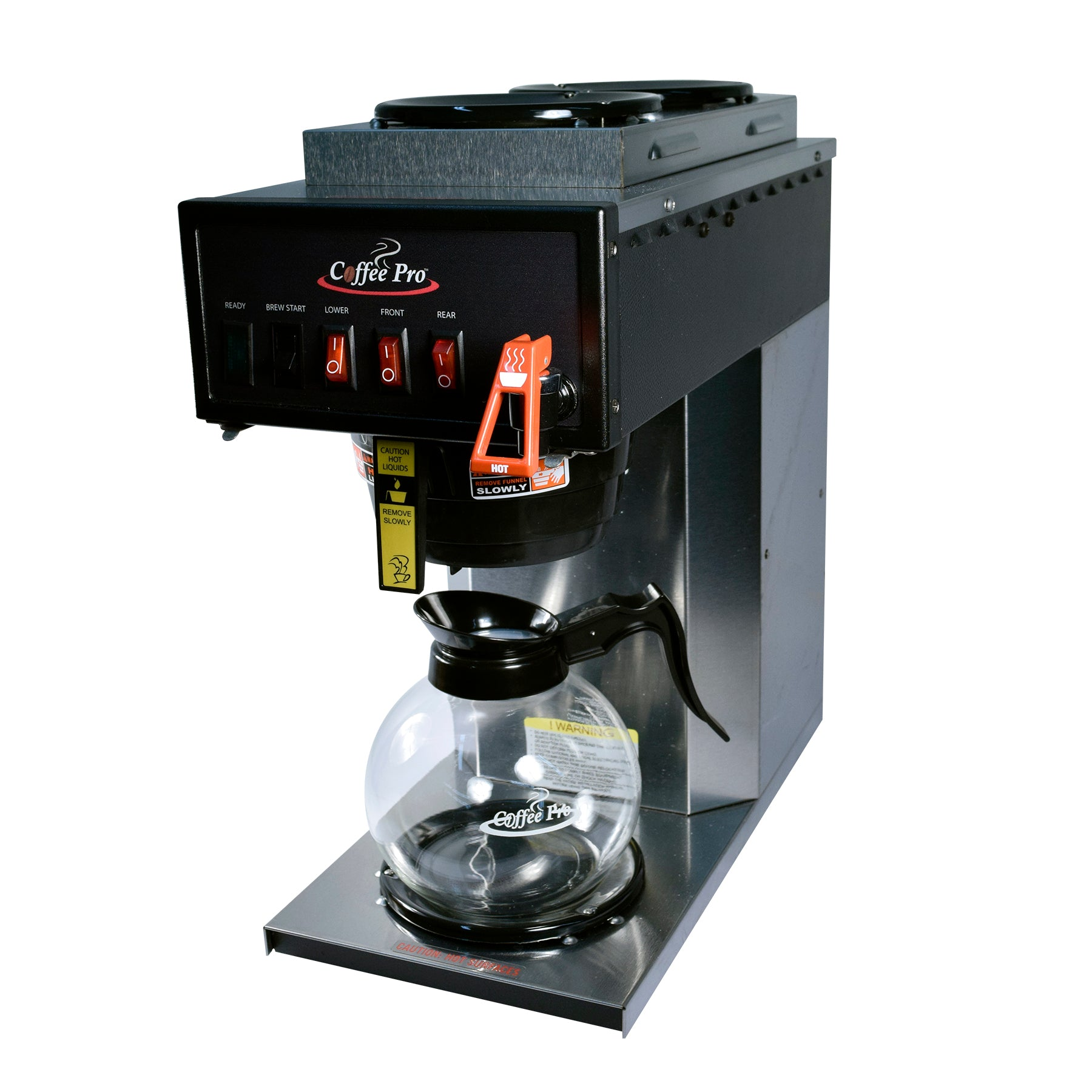 Automatic Plumbed 3-Burner Brewer