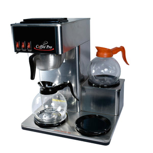 Eco-Friendly 3-Burner Low Profile Pour Over Brewer