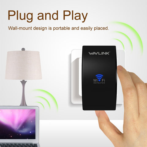 2 in 1 Wifi Extender & Wireless Router