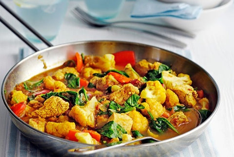 Chicken curry in-a-hurry