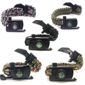 5 IN 1 UMBRELLA ROPE SURVIVAL BRACELET [5 VARIANTS]