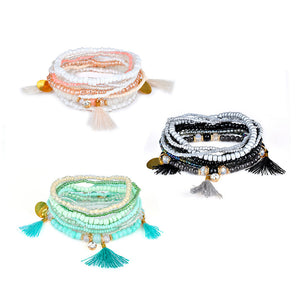 CHARMING MULTI-LAYER BOHEMIAN SEED BRACELETS [6 VARIANTS]