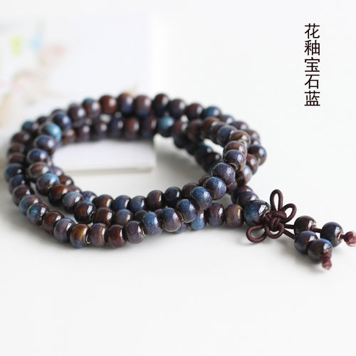 BOHO-INSPIRED CERAMIC BEAD MULTI-WRAP BRACELET [9 COLORS]