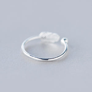 ANGEL'S FEATHER 925 STERLING SILVER TOE RING