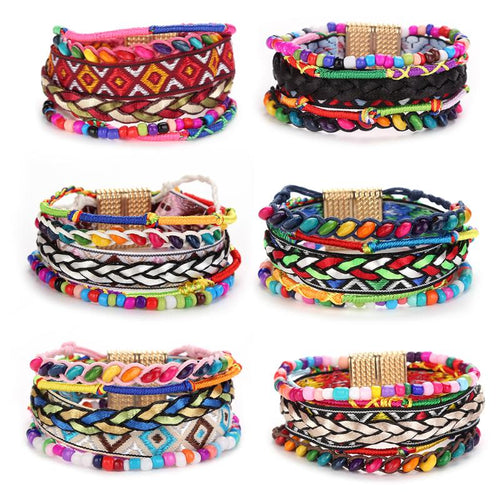 STYLISH BOHEMIAN FRIENDSHIP MULTI-LAYER BRACELET [6 VARIANTS]