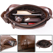 CASUAL STYLE LEATHER MESSENGER BAG [6 VARIANTS]