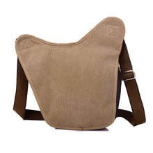 VINTAGE CASUAL CANVAS MESSENGER BAG [3 COLORS]