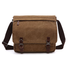 UNISEX CANVAS SATCHEL MESSENGER BAG [5 COLORS]
