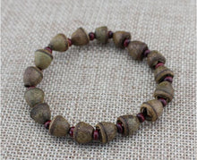 MEN'S NATURAL EUCALYPTUS SEEDS TIBETAN MEDITATION BRACELET