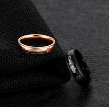 CHARMING 'HER KING HIS QUEEN' COUPLE RINGS
