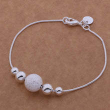 SIMPLE CHIC SINGLE STRING SILVER BEADS BRACELET