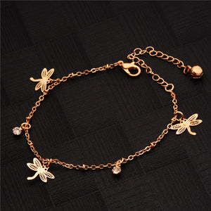 SASSY CHIC SINGLE LINK CHAIN ROSE GOLD BRACELET