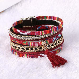 WOMEN'S ETHNIC BOHEMIAN MULTI-LAYER FRIENDSHIP BRACELET