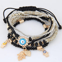 SASSY CHIC COLORFUL BEADS BOHEMIAN MULTI-LAYER BRACELET [4 COLORS]