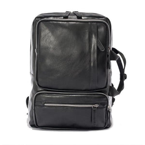 UNISEX VINTAGE LEATHER BACKPACK [2 COLORS]