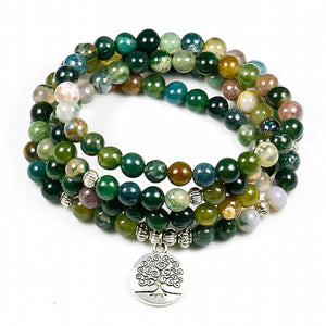 WOMEN'S INDIAN ONYX LUCKY CHARM PENDANT BRACELET