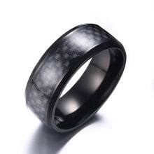 ELECTRIC WEAVE CARBON FIBER RING [4 COLORS]