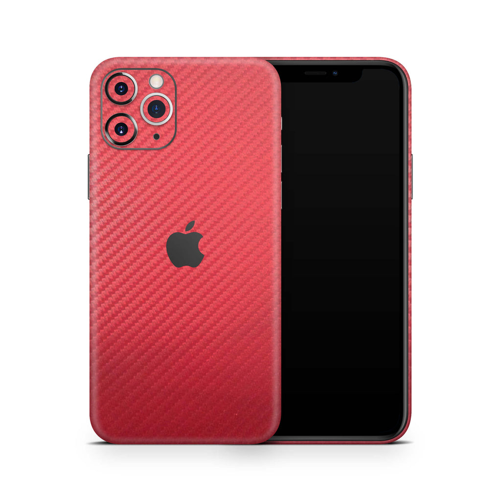 iPhone 11 Pro - Carbon Fiber Red