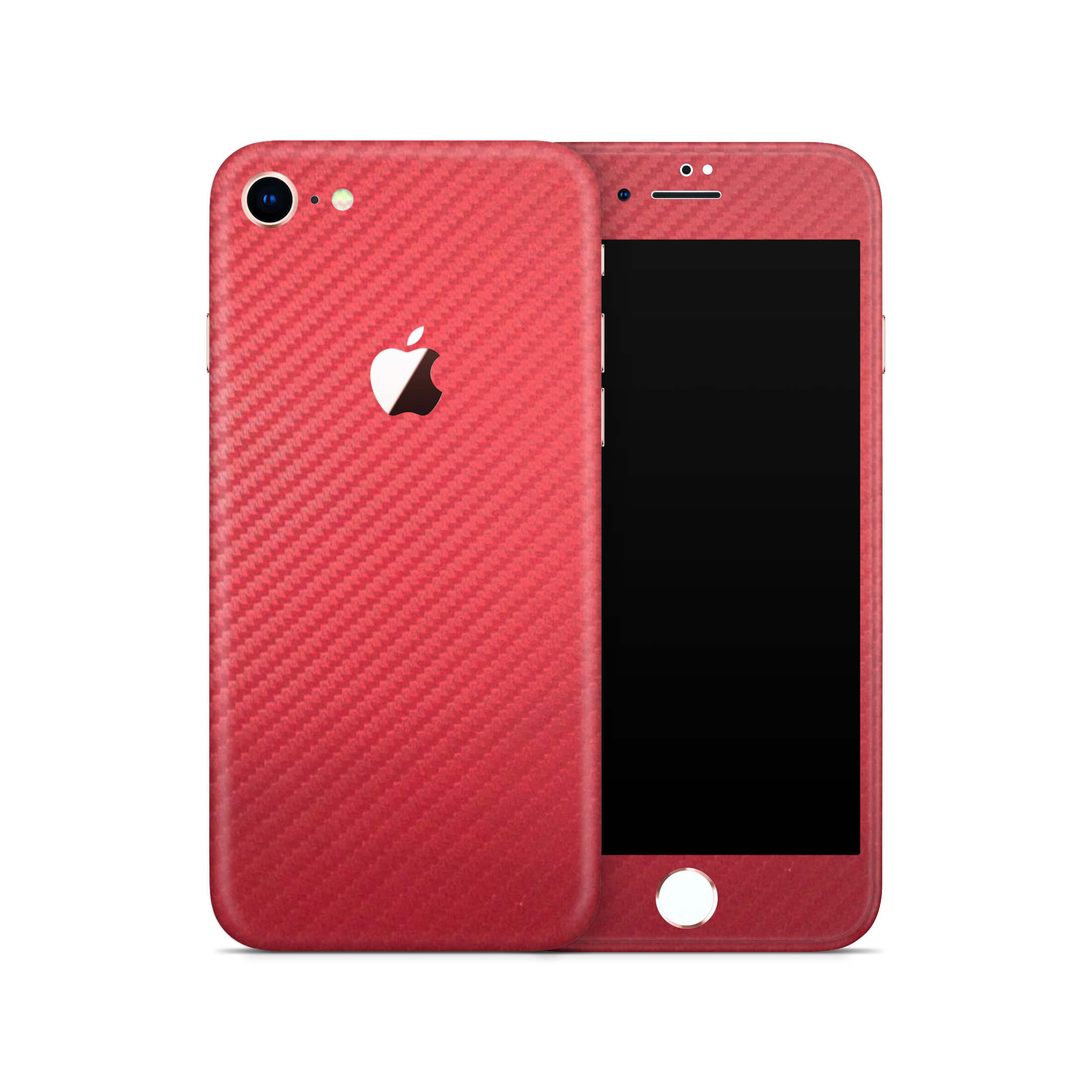 iPhone 8 - Carbon Fiber Red