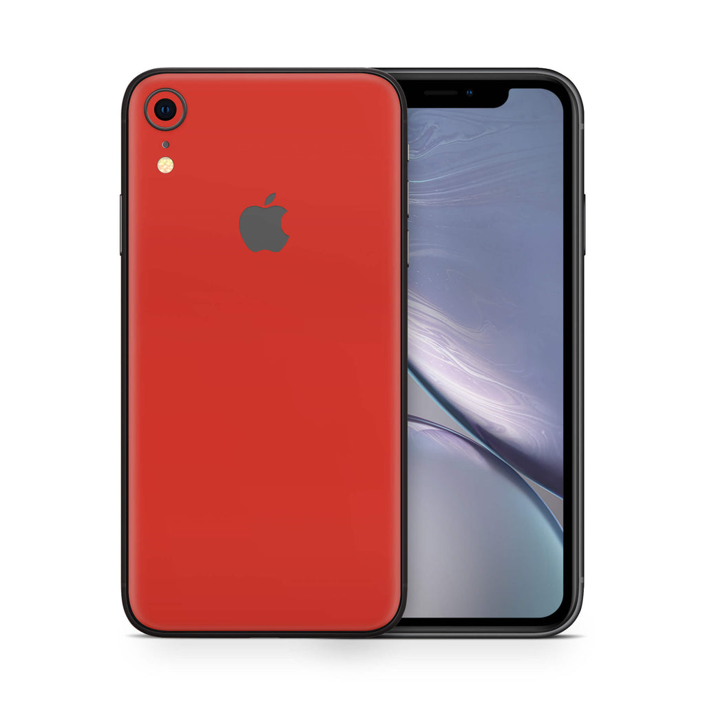 iPhone XR - Glossy Cherry Red