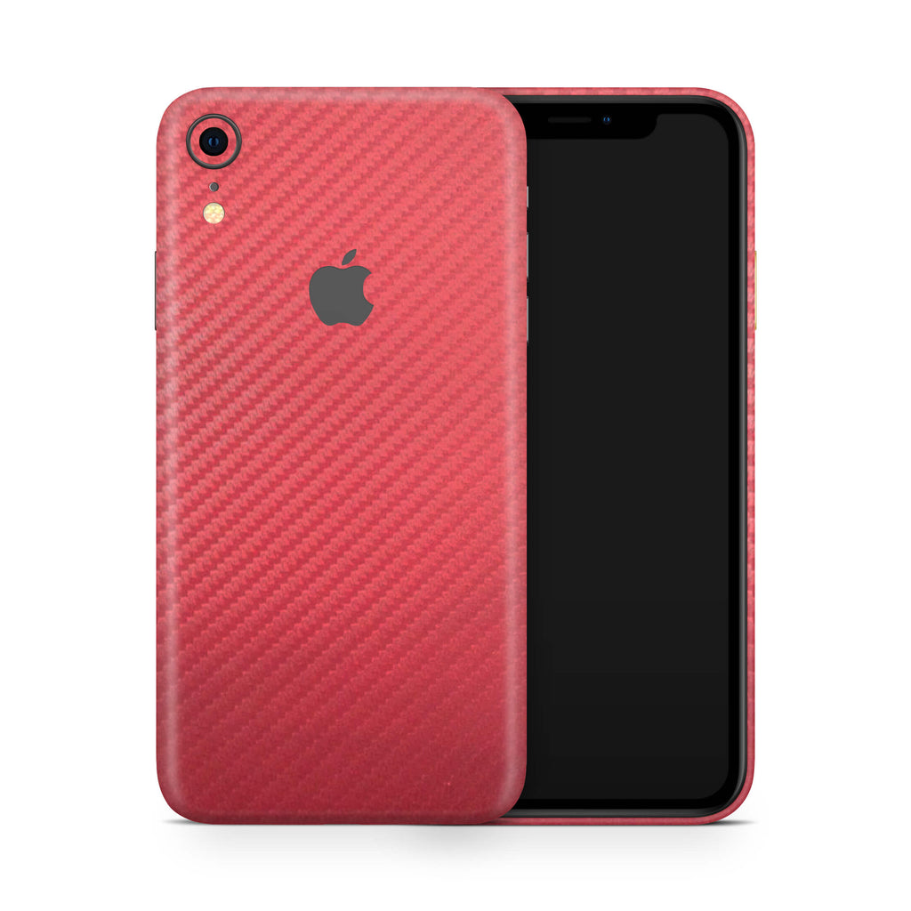 iPhone XR - Carbon Fiber Red