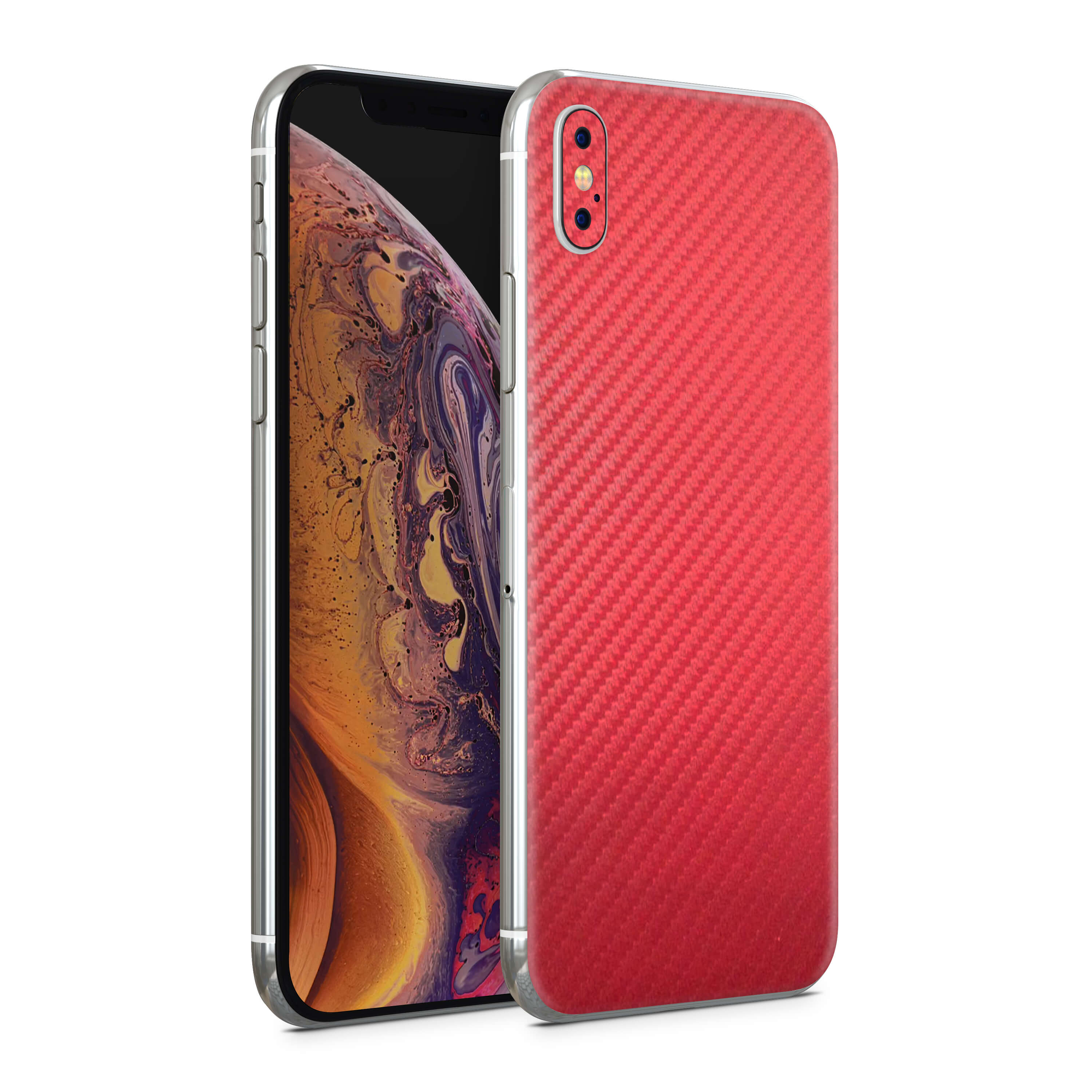 iPhone XS - Carbon Fiber Red