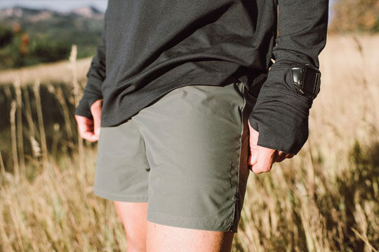 Sykes PX Running Short with Pockets