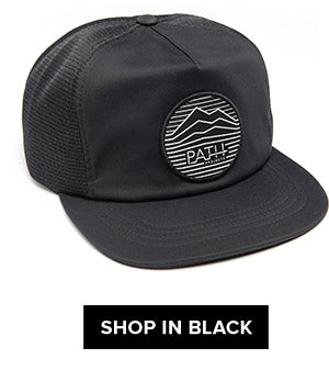 black rainier cap
