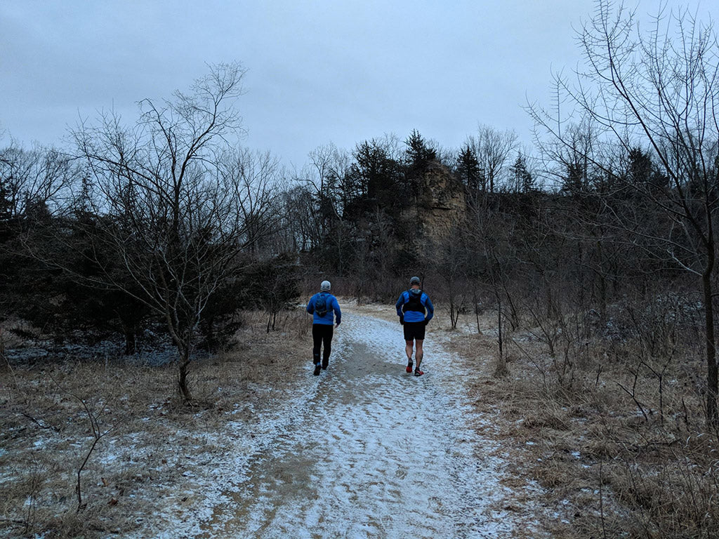 Running and hiking Iowa trails