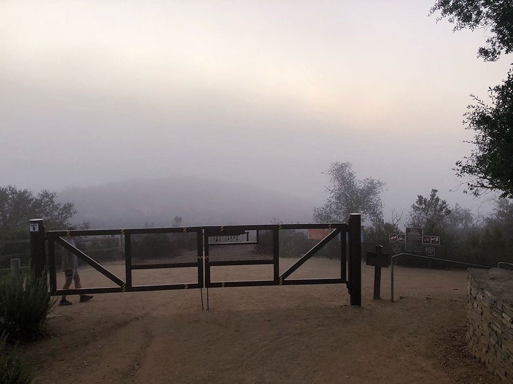 Crystal Cove Park Entrance