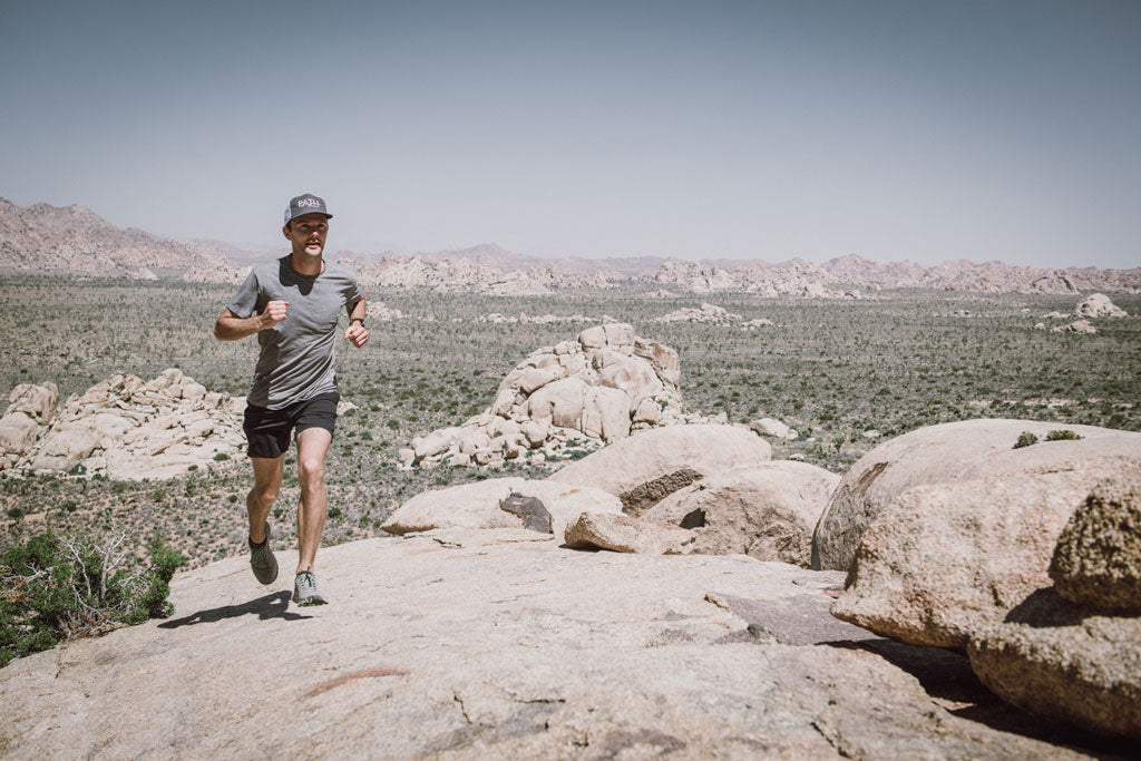 Floris Gierman running PATH projects Joshua Tree